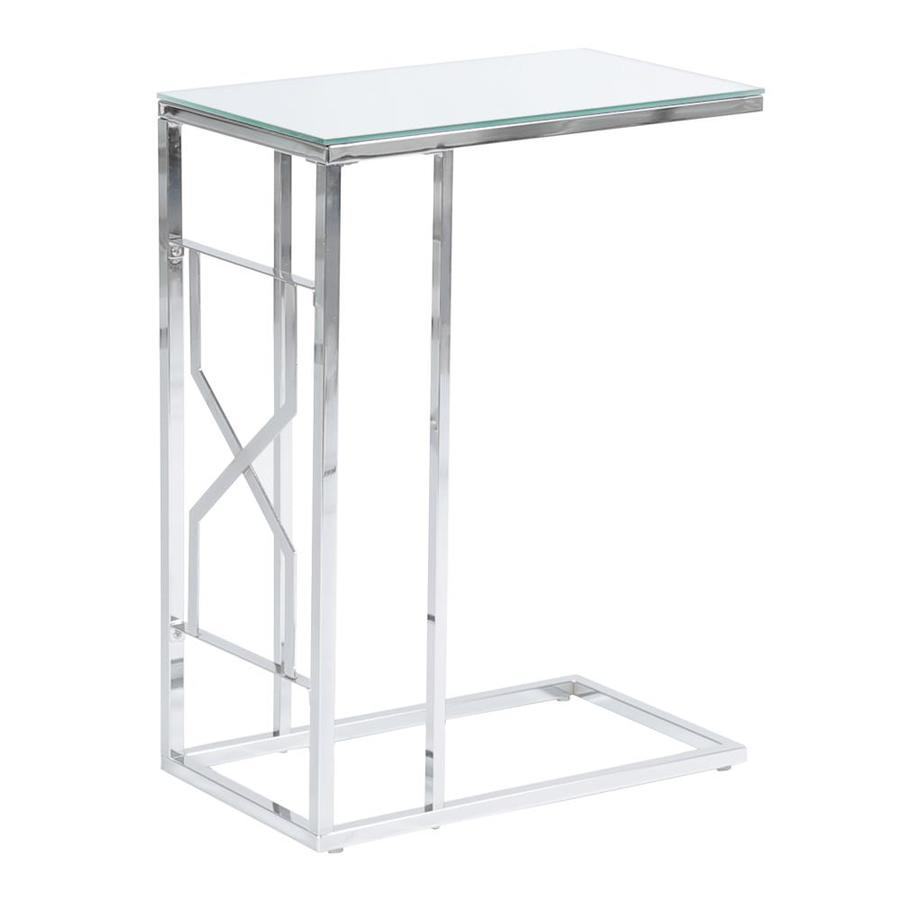 monarch specialties mirrored top accent table glass amish made furniture small bar height end tables target counter dining room sets oak trestle metal legs corner lamp farmhouse