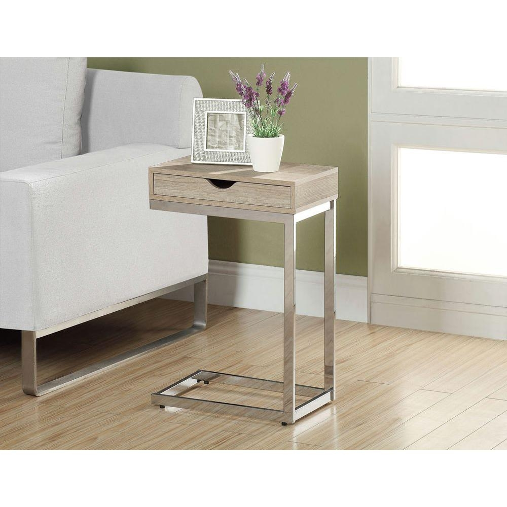 monarch specialties natural end table the for chrome accent ideas small glass top side french cherry oak tables modern wood and metal coffee target storage nesting with wheels
