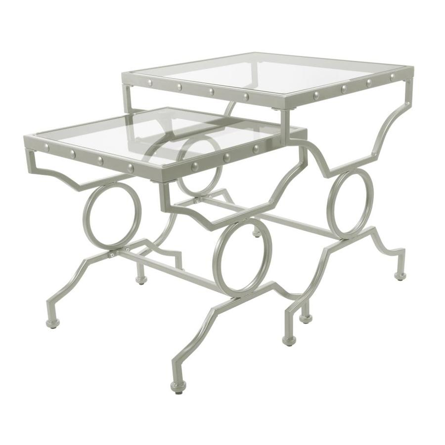 monarch specialties piece tempered glass accent table set square round drawer lack coffee cement dining room target nate berkus rug cloth marble lucite bedside safavieh overbed