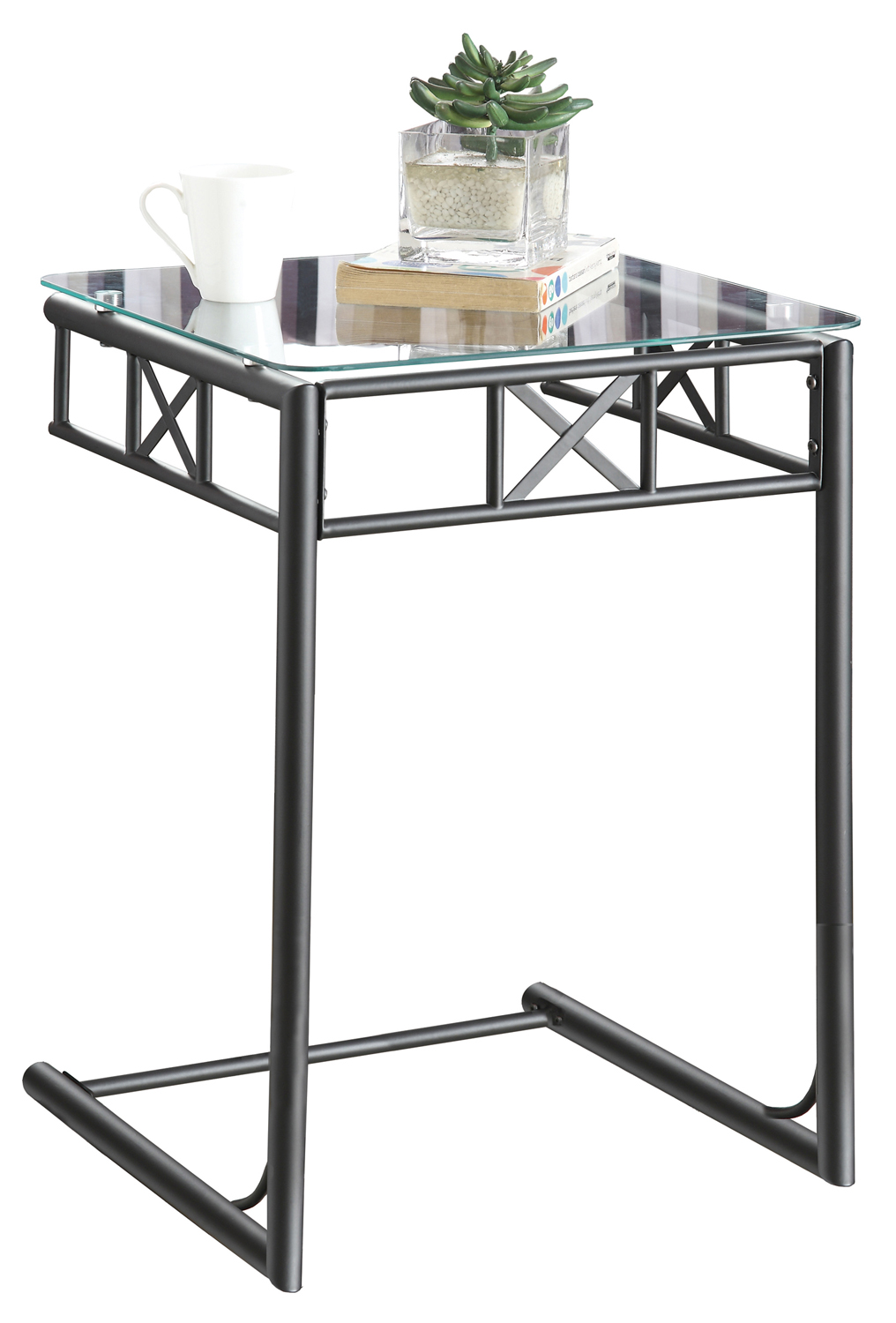 monarch specialties products bentwood accent table with tempered glass black metal ashley furniture sectional couch sams patio unfinished top round bedroom lamps usb edwards sea