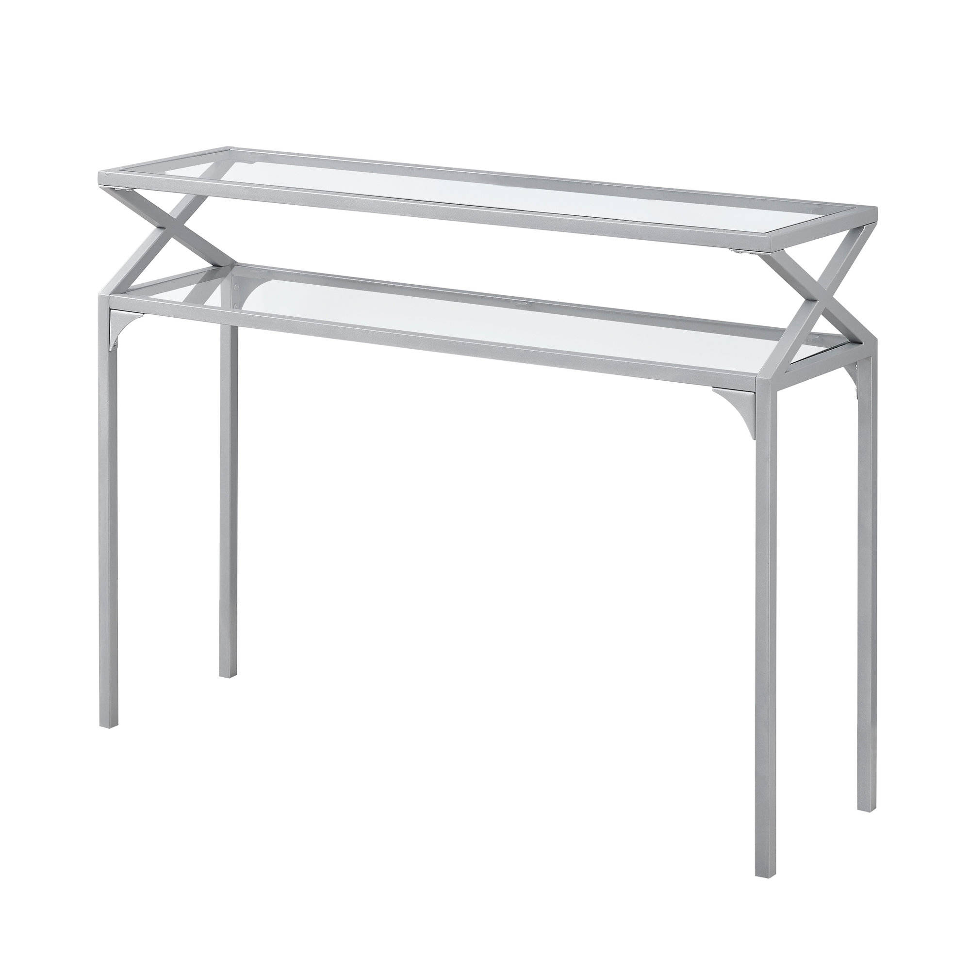 monarch specialties silver clear hall console accent table the mnc click enlarge threshold trim black and gold outdoor bbq grill bedroom furniture iron bedside bunnings garden