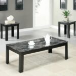 monarch specialties table set black grey marble look spin prod accent top home furniture living room coffee end tables clear chair design classics counter height dining with bench 150x150