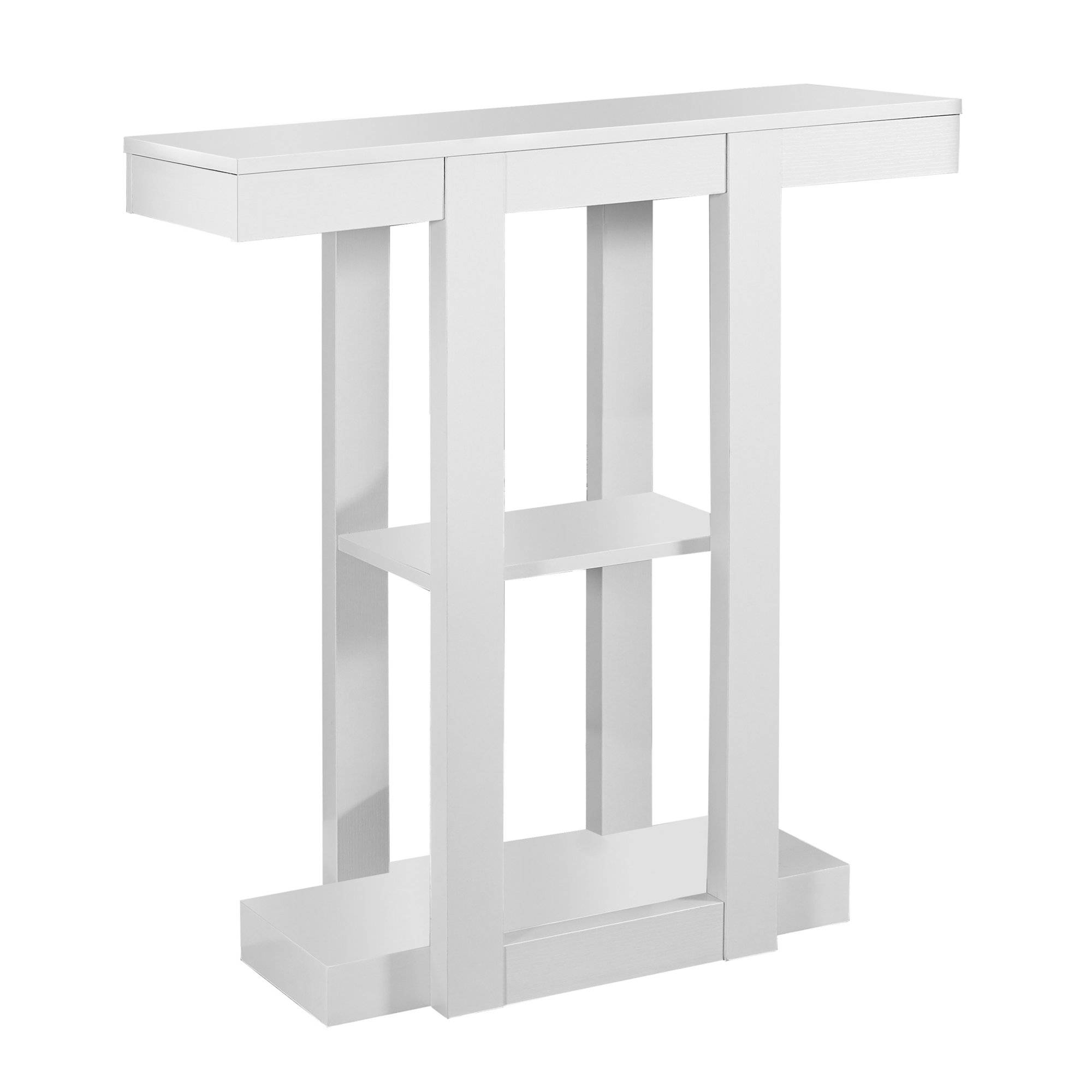 monarch specialties white storage hall console accent table the mnc with ice box cooler side small patio furniture childrens lamps seaside themed lamp shades slim unit ikea resin