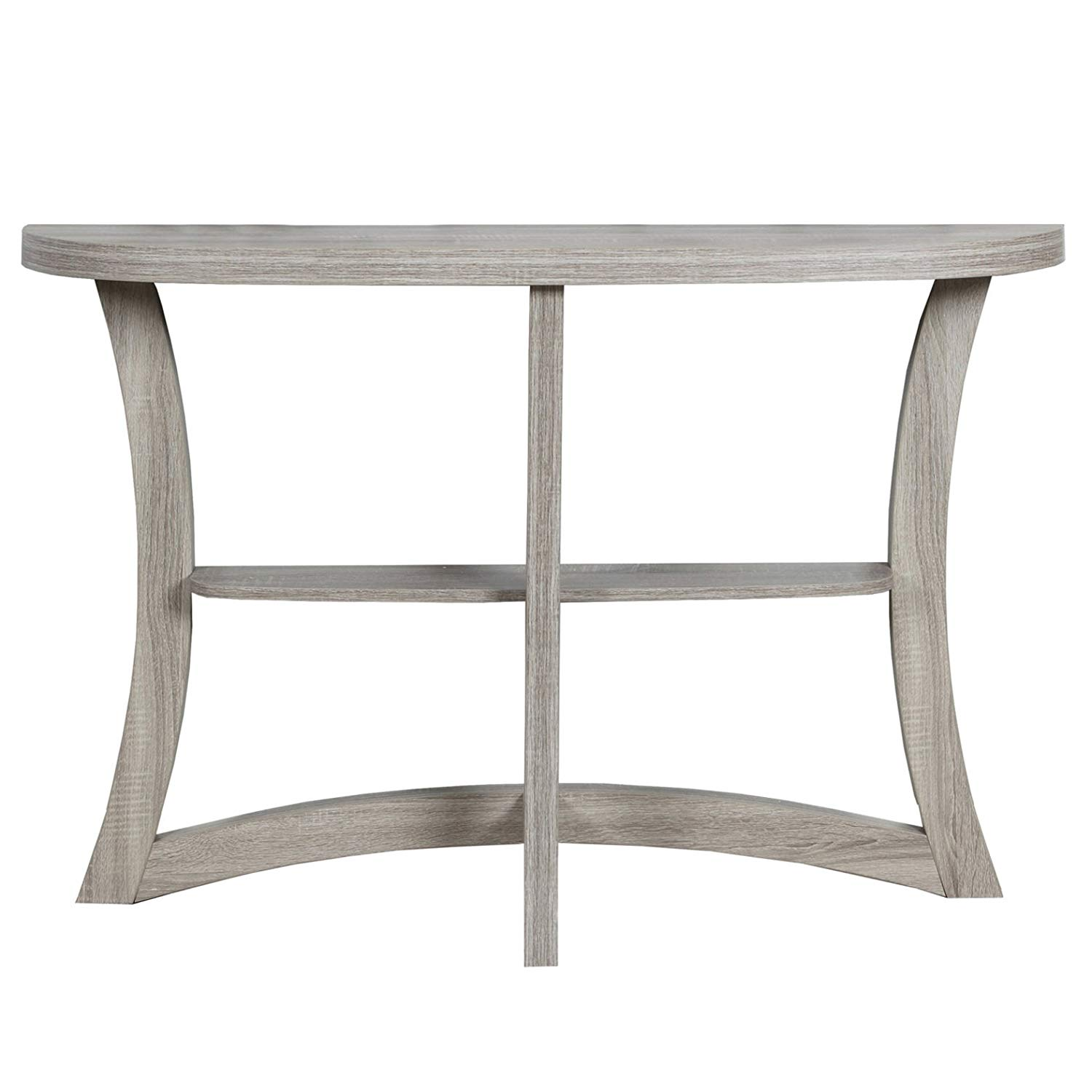 monarch two tier hall console accent table dark taupe kitchen dining hutch nesting modern hallway small oak side tables for living room office storage cabinets west elm planner