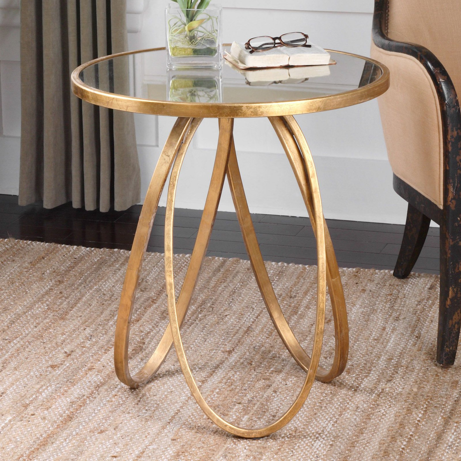 montrez gold accent table sofa side with drawer size tiffany lighting direct queen anne furniture nautical tables west elm stools modern nest ikea inch tablecloth door threshold