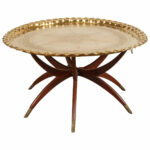 moroccan brass tray table spider folding stand for round accent marble set white dining metal top coffee exterior door threshold furniture pieces black with drawers west elm arch 150x150