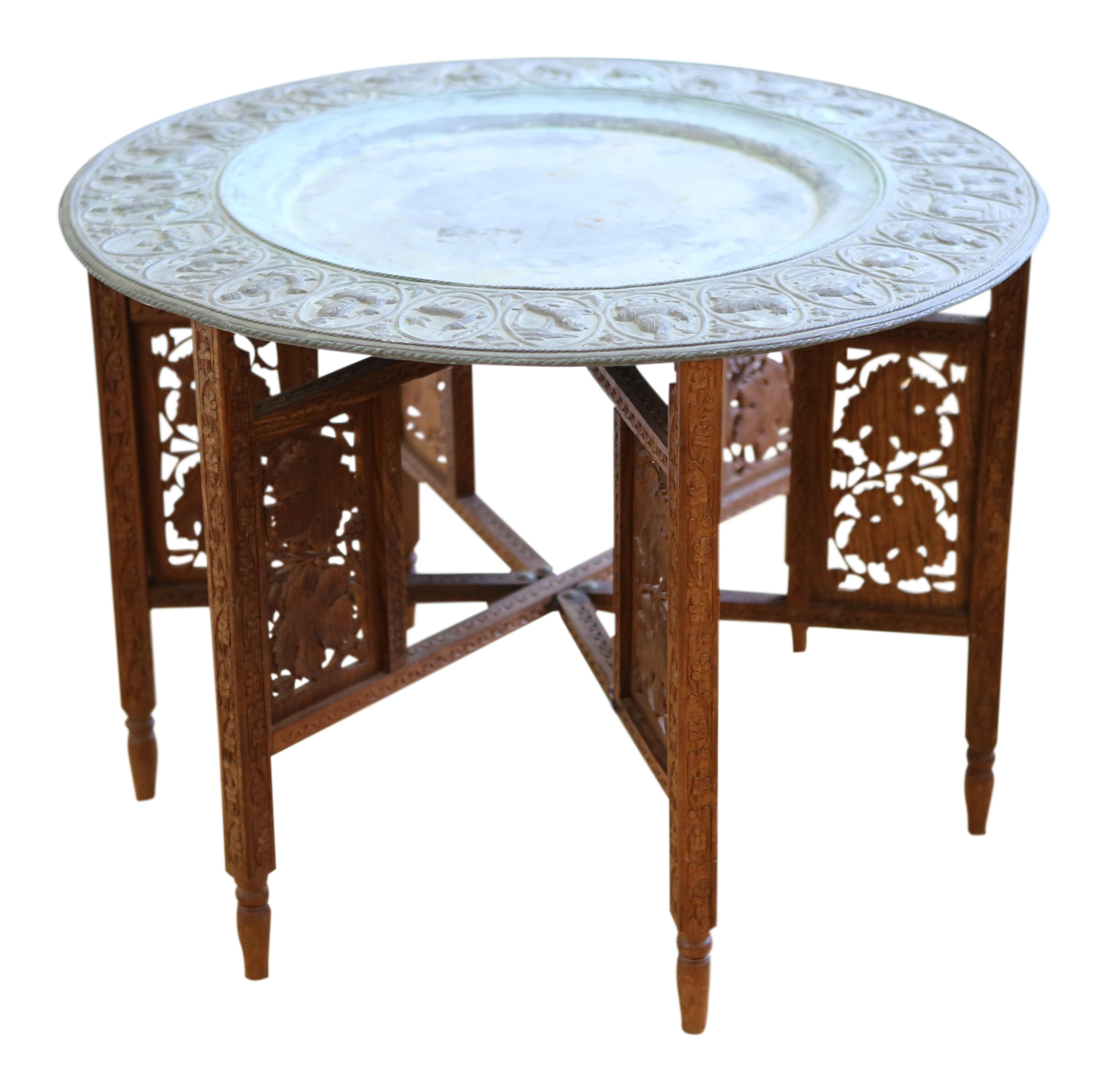 moroccan tray accent table chairish colonial miniature tiffany lamps lime green coffee pier one chair covers counter height dining set black marble ikea storage shelves with bins