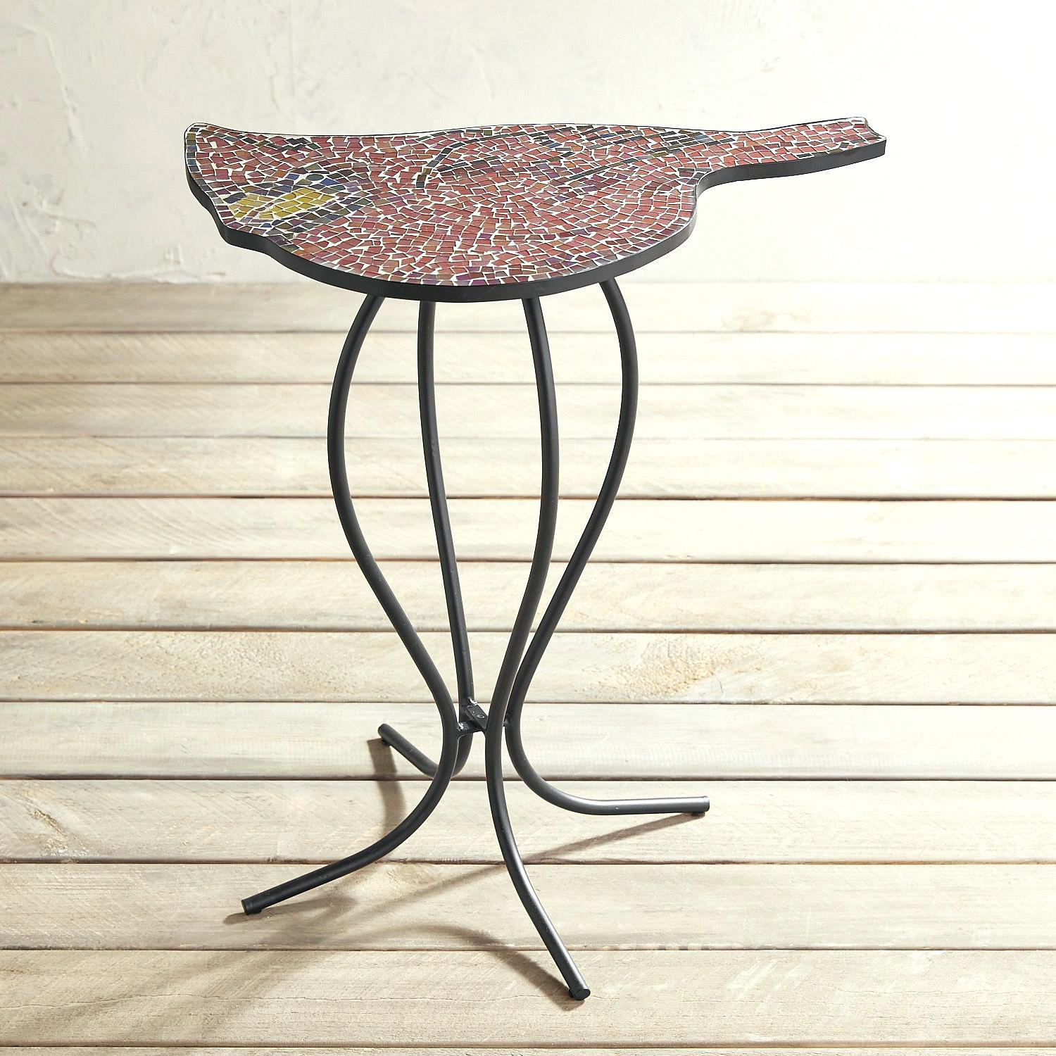 mosaic accent table ocane info outdoor high console pottery barn marble target kitchen reproduction designer furniture pub dining set tall narrow coffee outside grills counter and