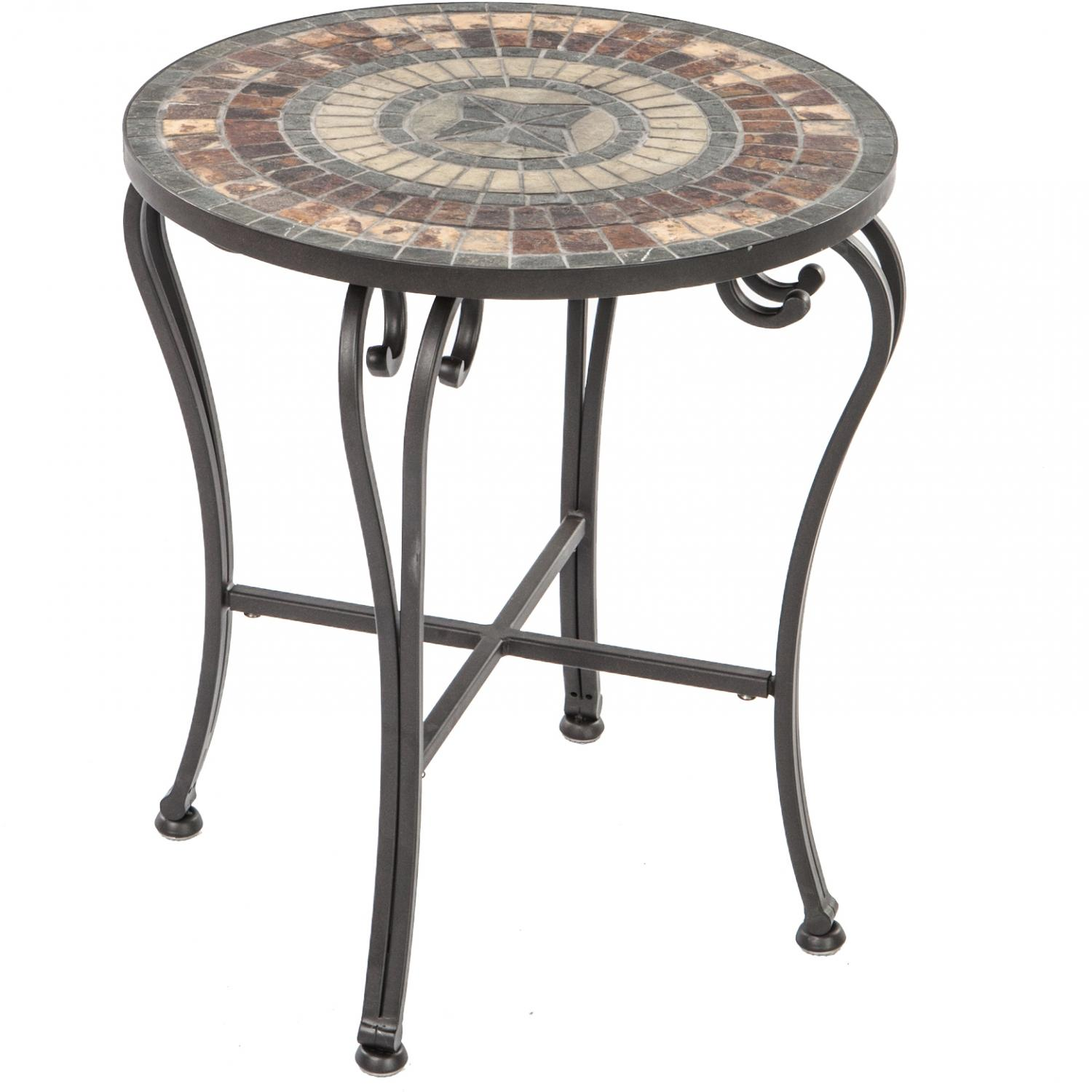 mosaic accent table outdoor design ideas kohls alfresco home asti side ultimate patio square night stand target vases diy granite countertops large silver lamps dining room