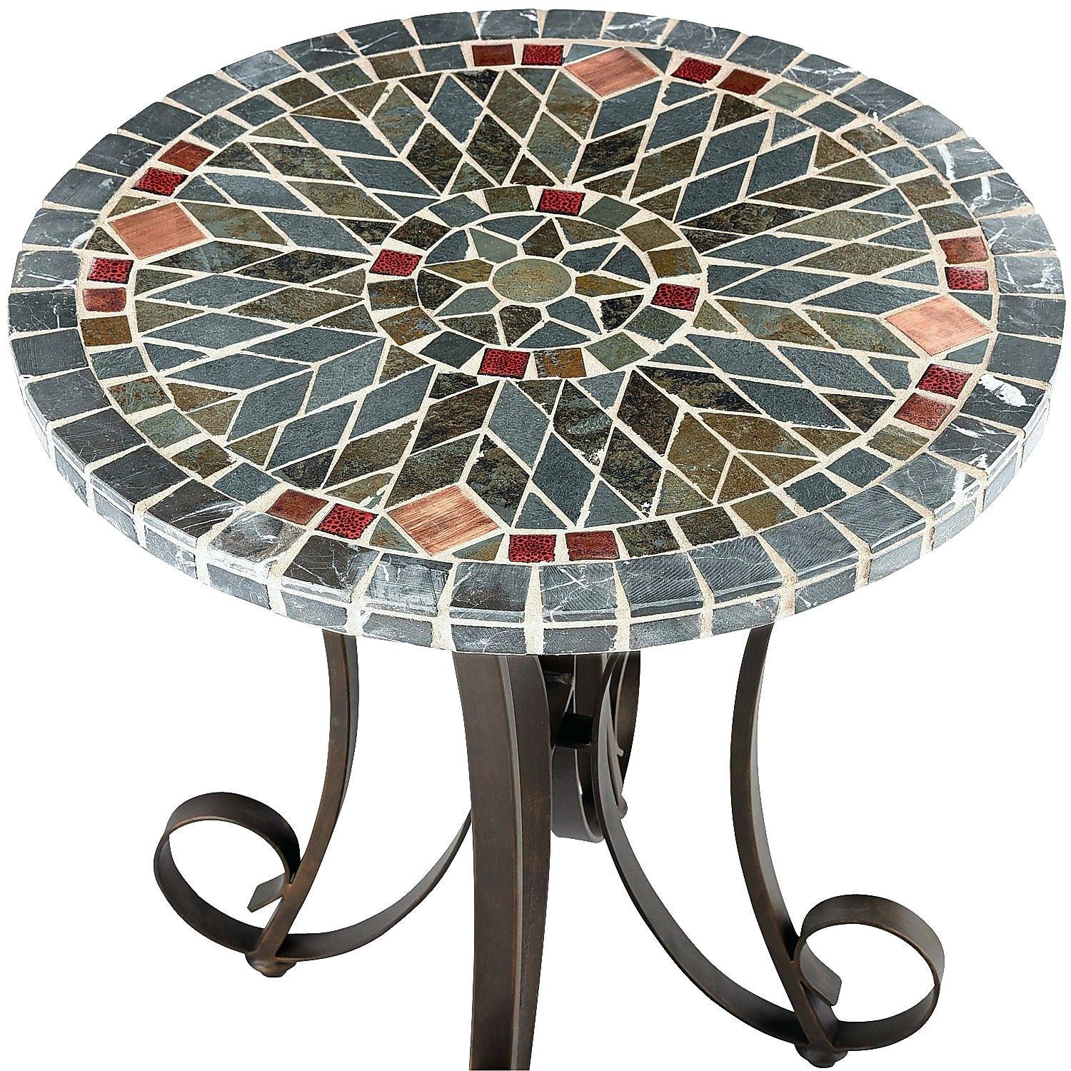 mosaic accent table pier tables kenzie lavorochogan info hoodie jacket low profile lamp target mission coffee bathroom stand round patio chair black mirrored side tiffany lamps