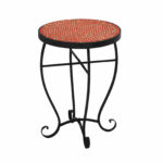 mosaic end table outdoor droughtrelief moroccan stone accent urban designs reviews unique rustic tables resin wicker patio furniture drum throne parts black lamp for living room 150x150