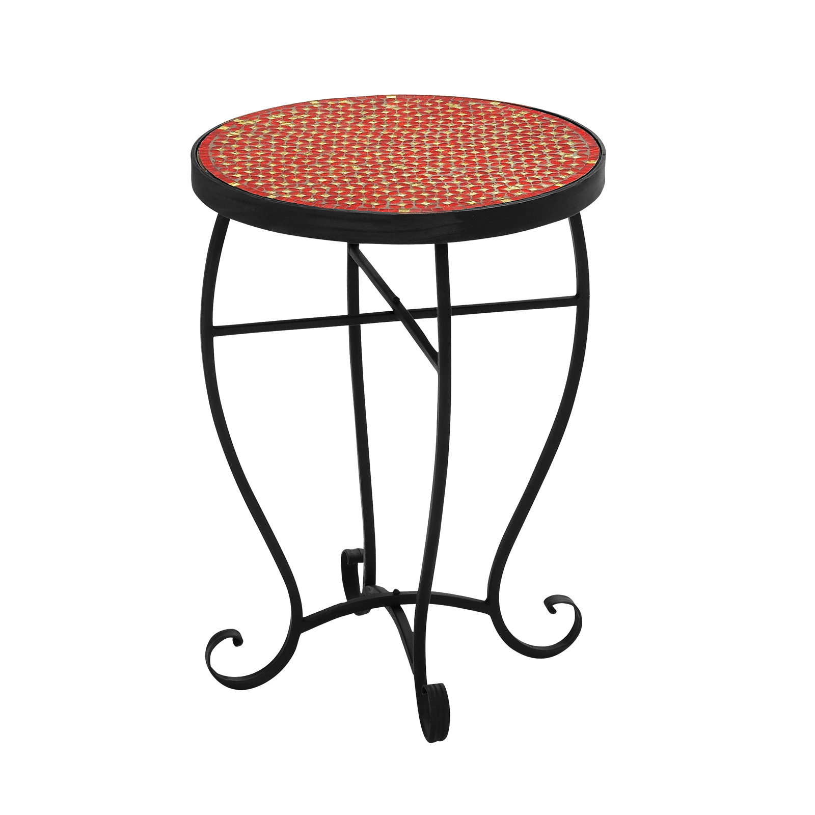 mosaic end table outdoor droughtrelief moroccan stone accent urban designs reviews unique rustic tables resin wicker patio furniture drum throne parts black lamp for living room