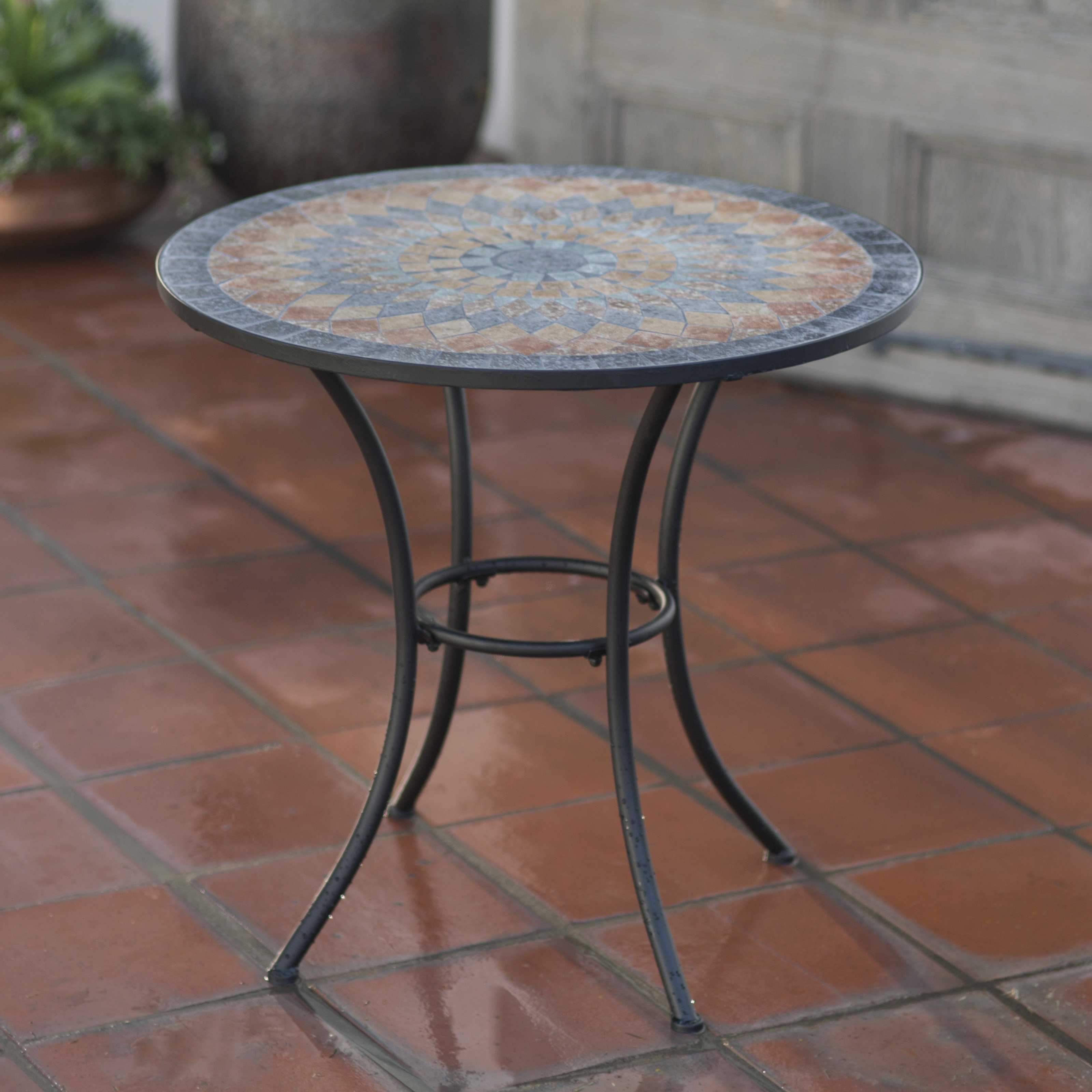 mosaic outdoor coffee table concept side tile modern ideas inlay decorating broken glass zaltana accent projects craft art small iron white patio chairs battery powered lamps