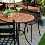 mosaic patio table outdoor garden top furniture tables for tile dining set dpi rgb random luxury round modern ideas zaltana accent american tourister rattan side glass concrete 150x150