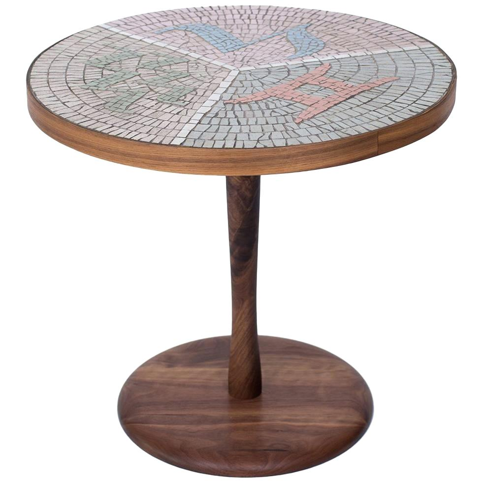 mosaic side table garden jvanderhook info walnut and for mirror asda accent indoor circular entry blue metal bedside silver wood coffee square trestle black wall clock shoe