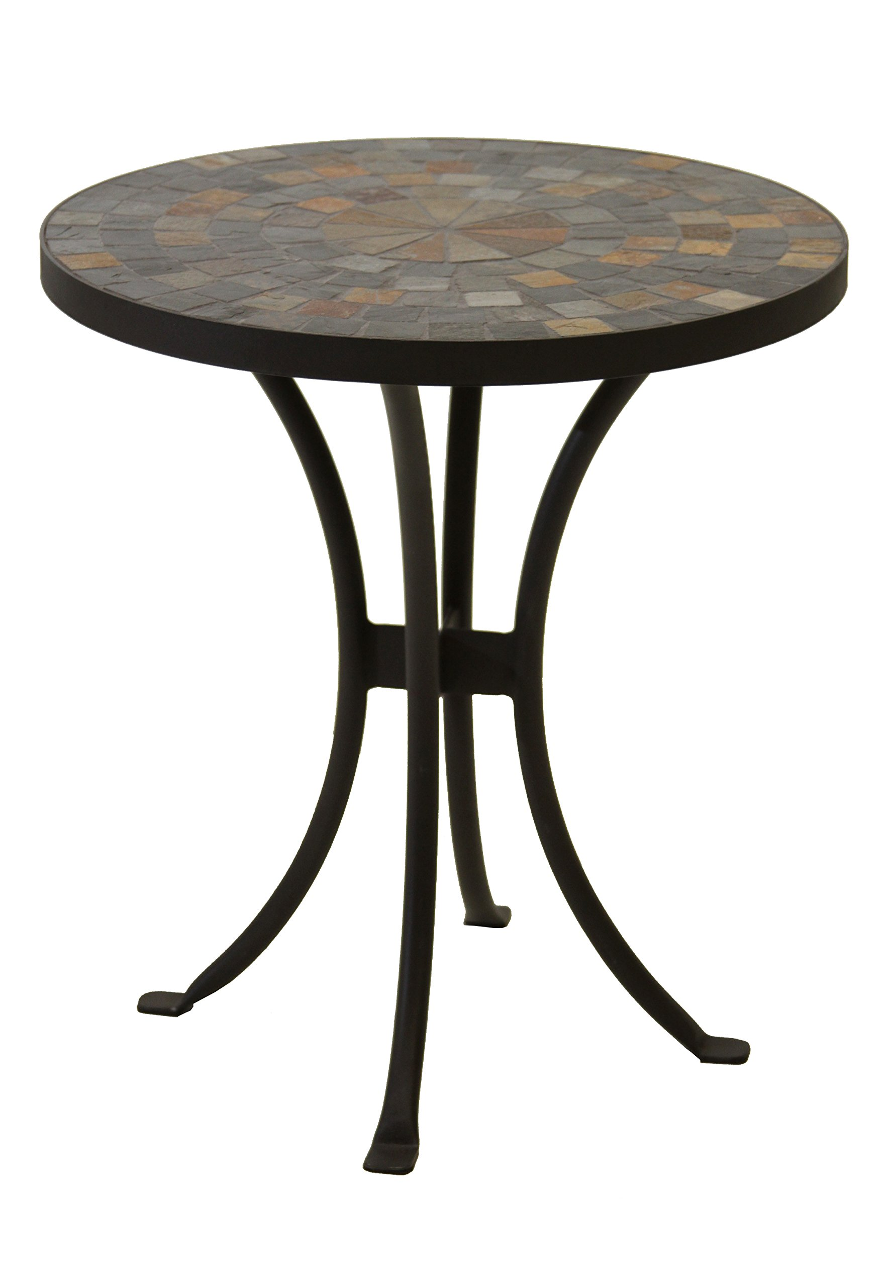 mosaic table garden find line bella green outdoor accent get quotations interiors llc side inch tall plant stand wide threshold wood circular patio furniture covers ashley round