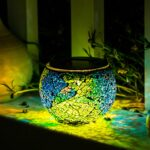 mosaic table garden find line bella green outdoor accent get quotations solar lights kinna pack glass ball lamp waterproof for home ashley furniture round dining high nightstand 150x150