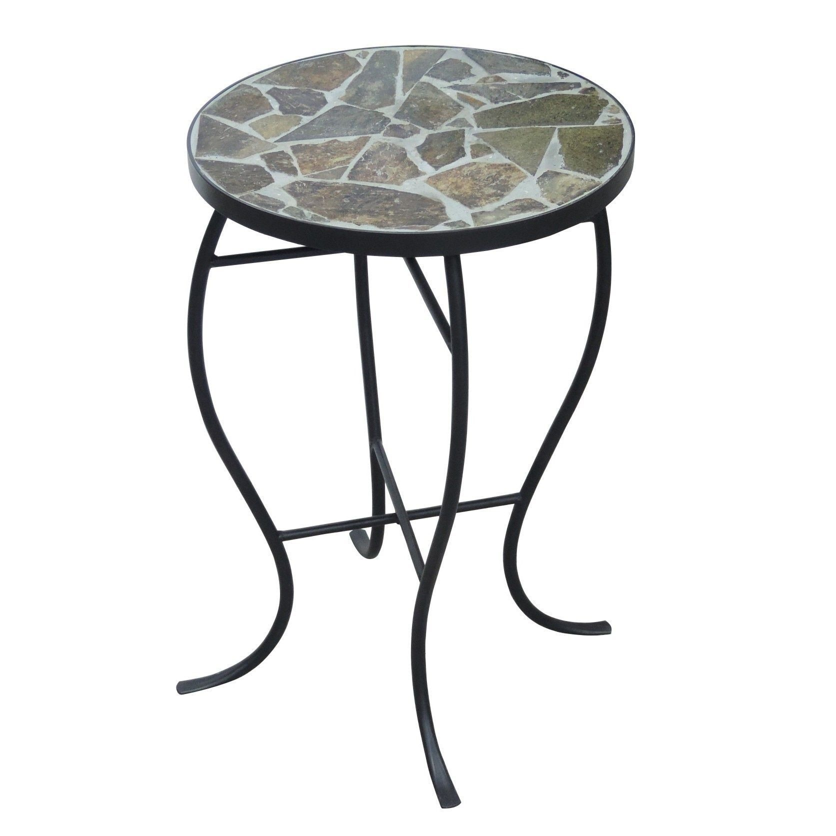 mosaic tile coffee table new outdoor fresh briarwood home decor round side with metal base multi furniture website design small accent lamps for kitchen contemporary wood