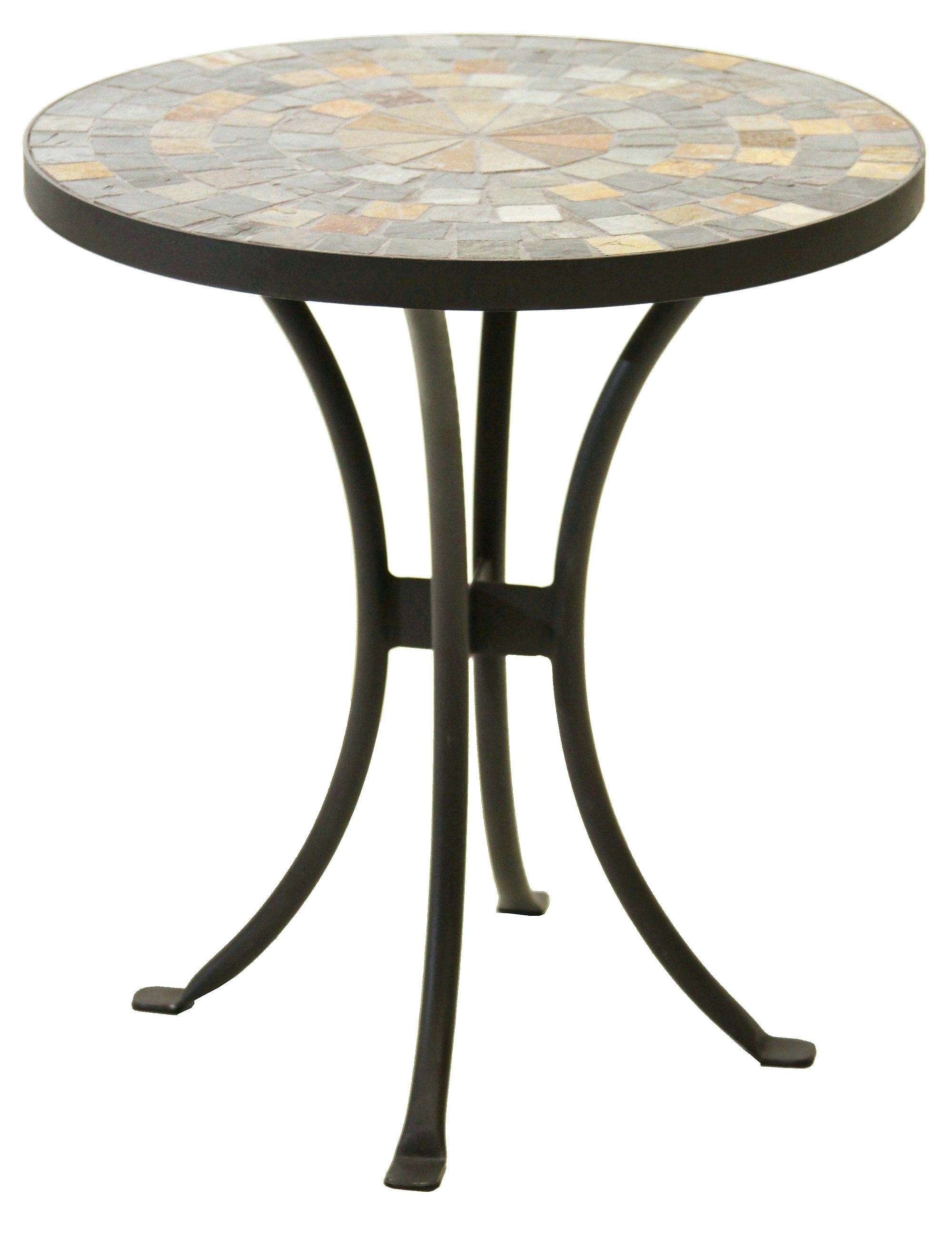 mosaic tile outdoor table elegant bistro tables patio fresh accent stock resin side used drum stool coffee centerpiece orange chair room essentials wine glass cabinet black