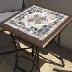 mosaic tile patio table upcycled glass accent top outdoor cymbal bag west elm wooden bedside designs console with sliding barn doors black plastic side used office furniture 150x150
