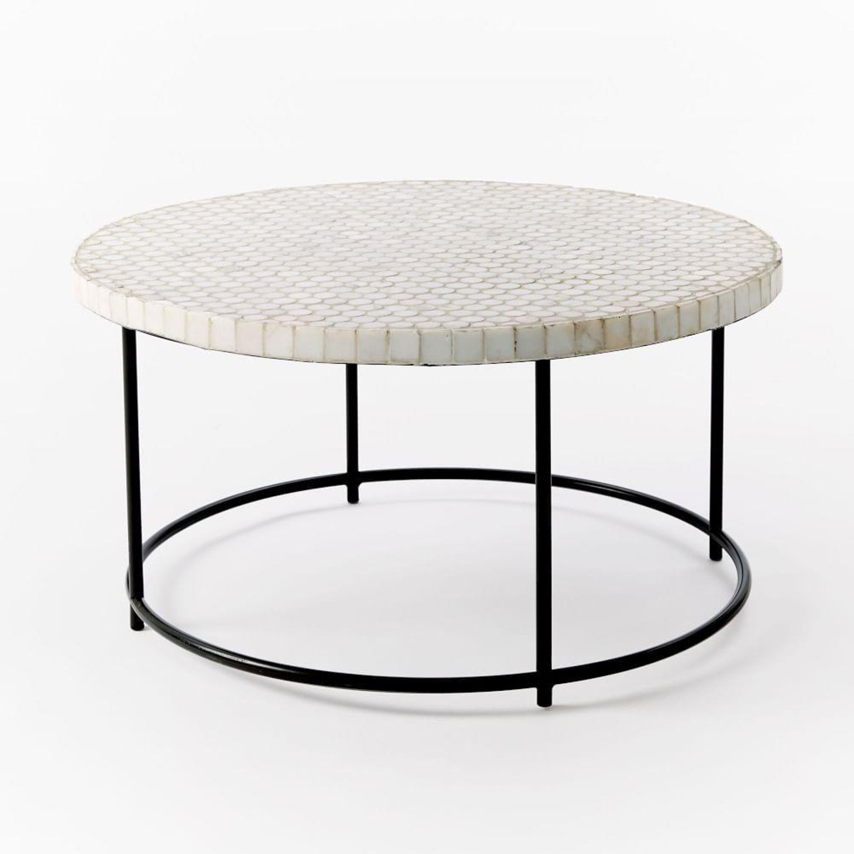 mosaic tiled outdoor coffee table white marble antique bronze media side turquoise end kirklands bar stools rattan drinks furniture website design square patio threshold wood and