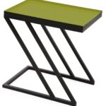 moss side table accent rectangular tray enameled green natural cherry high back chair door chest old dining small patio pottery barn fireplace coffee styling jules long narrow end 150x150