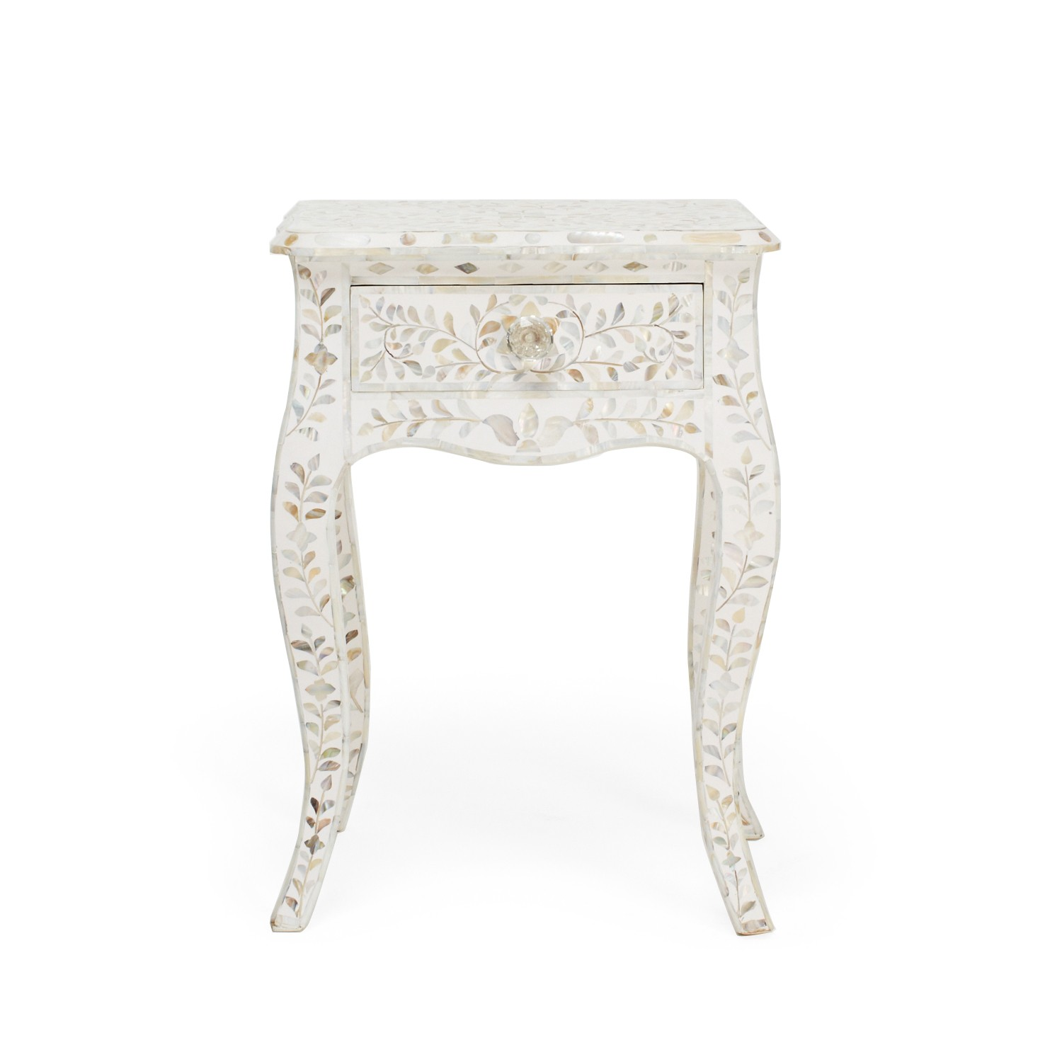 mother pearl side table white carpet home emerald green accent women shoe conversion west elm rocking chair round garden coffee threshold owings hot water heater tablecloth for