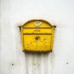 muriwai mailboxes mathyas kurmann mathyaskurmann unsplash accent table bourse brass colored mailbox patio beverage cooler side blue cabinet garden furniture sets man cave chair 150x150