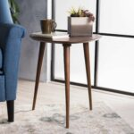 naja mid century wood end table christopher knight home room essentials stacking accent floor edging tiffany chestnut bedside large ginger jar lamps formal dining chairs small 150x150