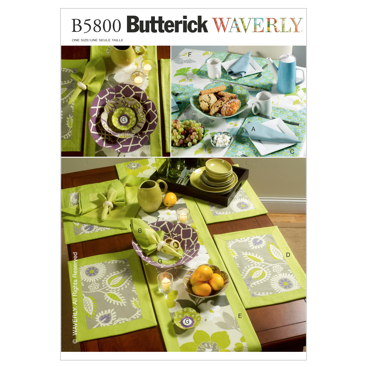 napkins placemats table runner cloth and flower bow one artistic accents tablecloth butterick crafts home accessory dark wood bedside cabinets target corner desk grill master