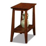 narrow accent table end tiger maple cherry small tables thin marble and walnut coffee grey occasional chair bone inlay side formal dining room kitchen sets with bench ashley 150x150