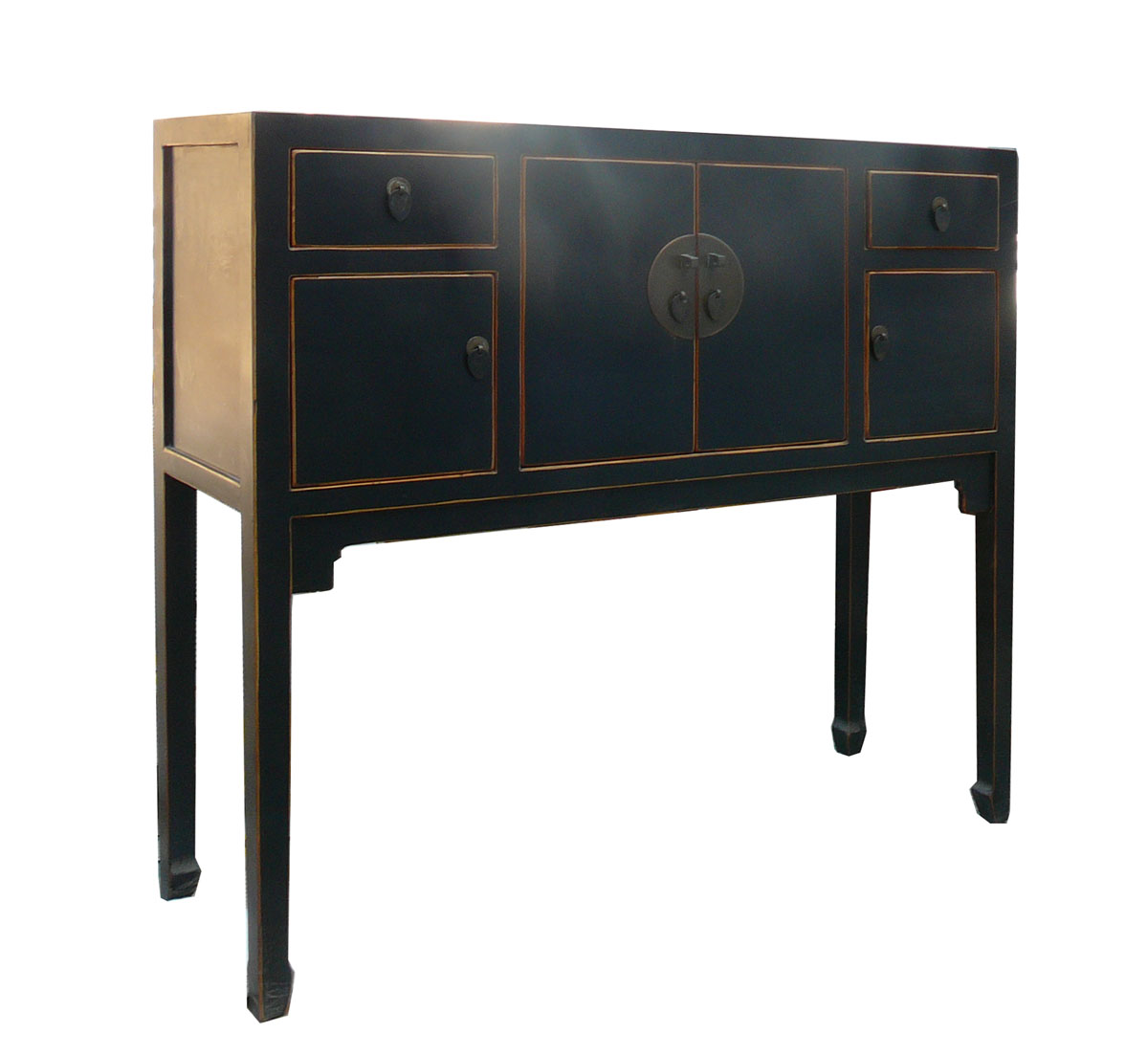 narrow black console table blacks lacquer consoles tables ashley altar sepcial offer accent coffee and end sets with storage trunk seaside themed lighting grohe rainshower yellow