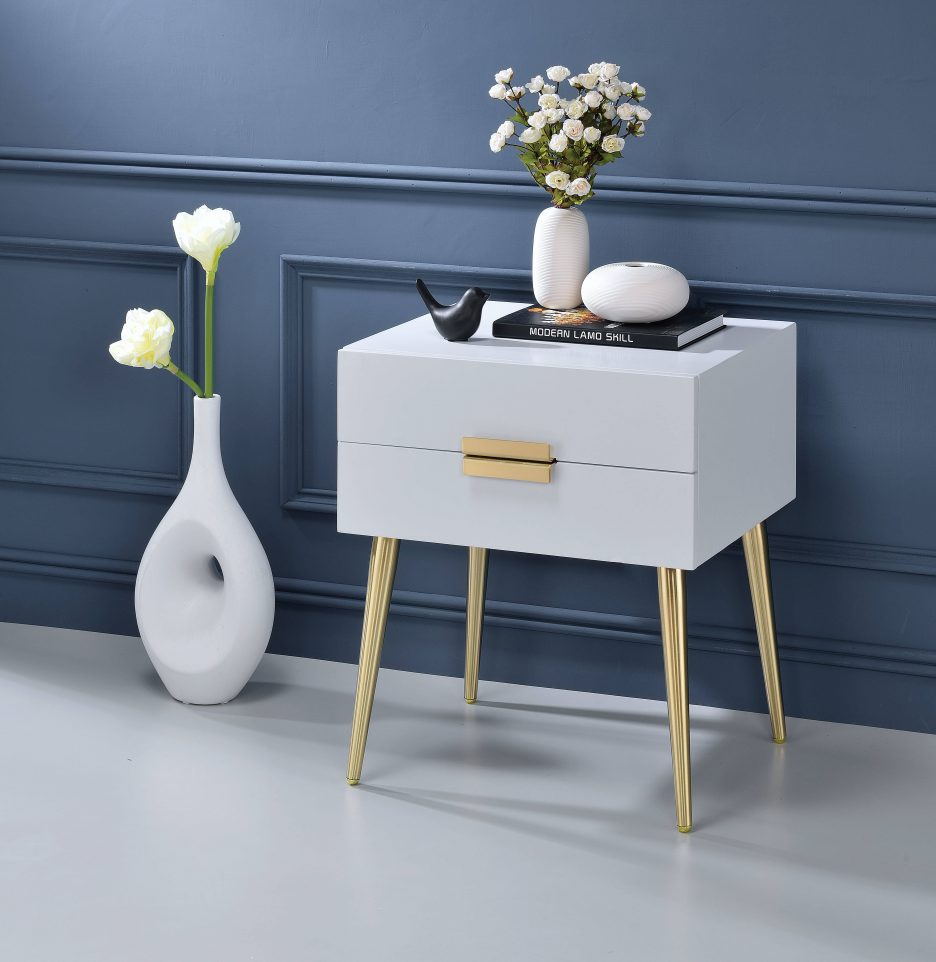 narrow end table black and gold pedestal accent cabinet triangle shaped corner small entryway chair blue distressed mainstays marble linon home decor products coffee chairs living