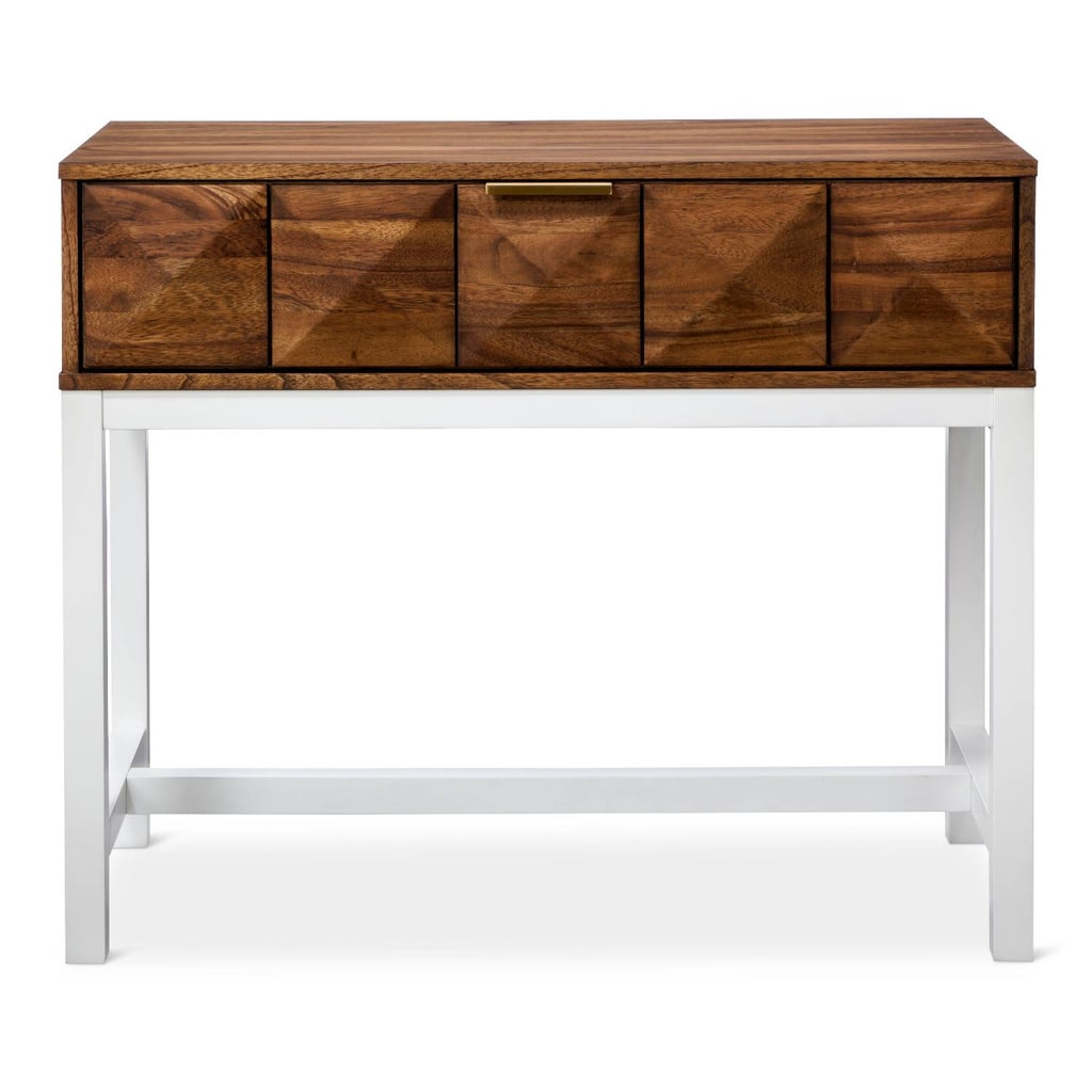 nate berkus console table originally target spring accent flip top glass bedside cabinets room essentials trestle marble occasional card ceramic patio side elephant home