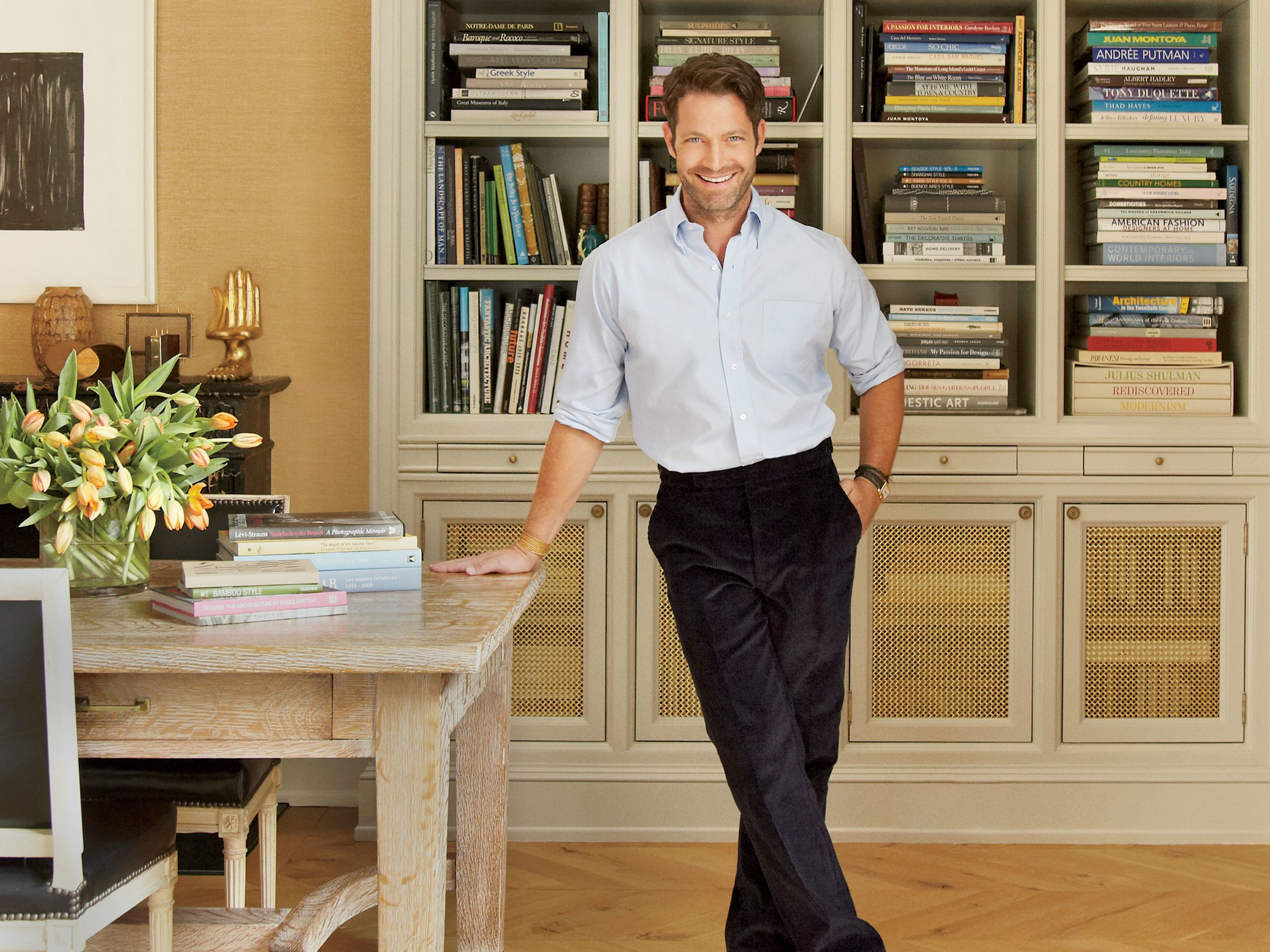 nate berkus resolutions trends and his new collection for before after renovation accent table target architectural digest footstool legs ashley trunk coffee marble snack metal