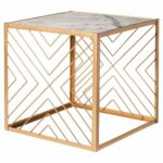 nate berkus square accent table with marble top gold patio parasol seater dining cover teak set wicker and chairs resin side tables venetian mirrored furniture rustic glass coffee 150x150