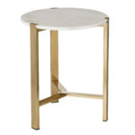 nate berkus target fall holiday look accent table marble top smoked glass round wood end outdoor concrete side trade furniture gold lamps french home goods coffee tables white 150x150