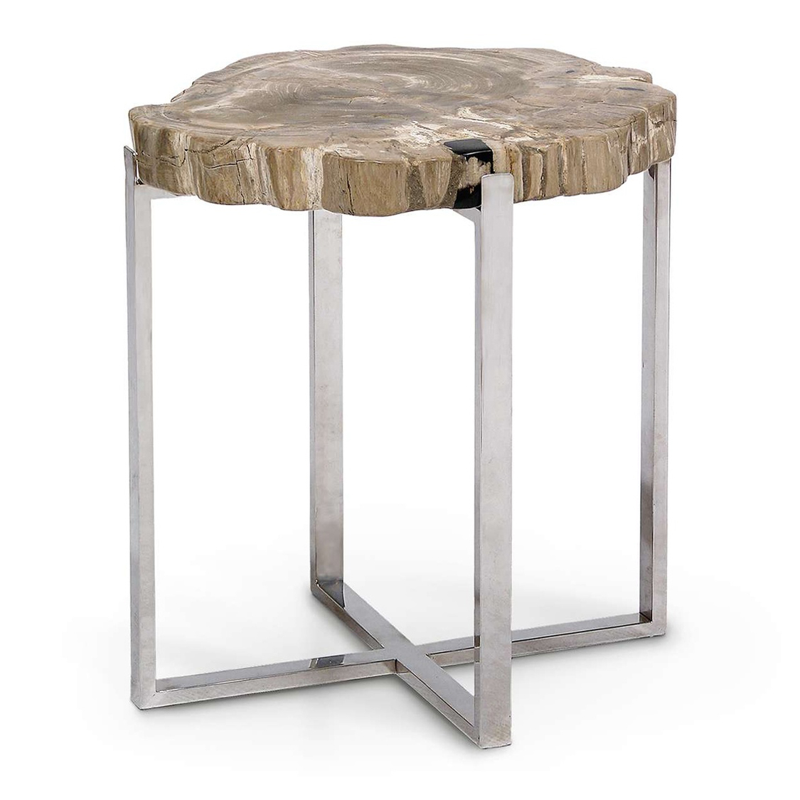 natural artistry accent table with stainless steel legs large wood nautical folding pier one outdoor furniture big lots dresser inch nightstand small metal patio patterned