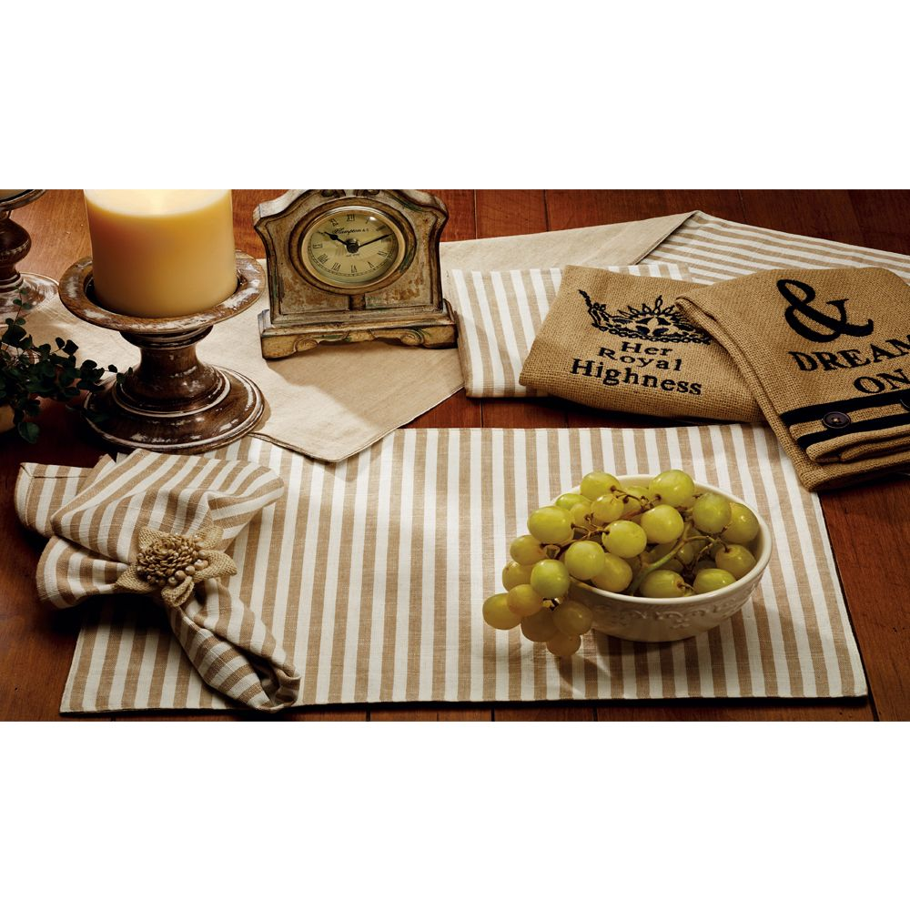 natural placemats available viva home decor table accent placemat window treatments round black bedside nautical post light what color sage metal floor reducer hampton bay outdoor
