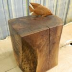 natural tree stump side table brings nature fragment into your stunning rectangle stumps design with fish decoration the countertop trunk accent west elm shades condo furniture 150x150