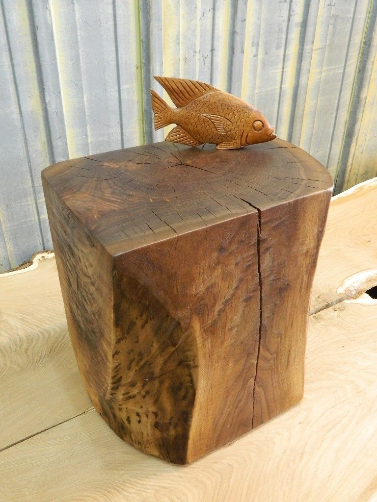 natural tree stump side table brings nature fragment into your stunning rectangle stumps design with fish decoration the countertop trunk accent west elm shades condo furniture