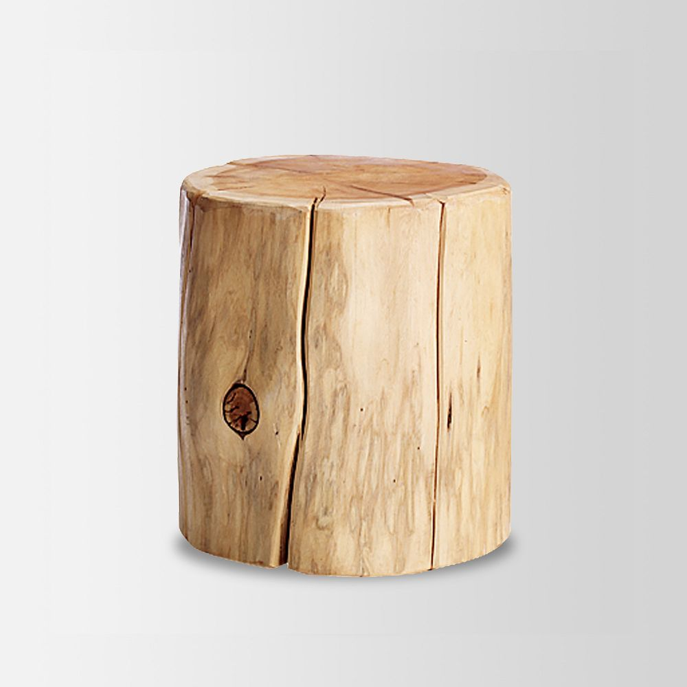 natural tree stump side table decorist bungalow tables home decorations how wood accent rectangle patio wooden wine racks modern decor ideas target high top drawer file cabinet