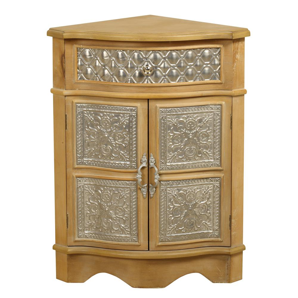 natural wood corner cabinet the office storage cabinets accent table pilgrim furniture safavieh lighting big lots lamps vinyl lace tablecloth jcpenney slipcovers white end low