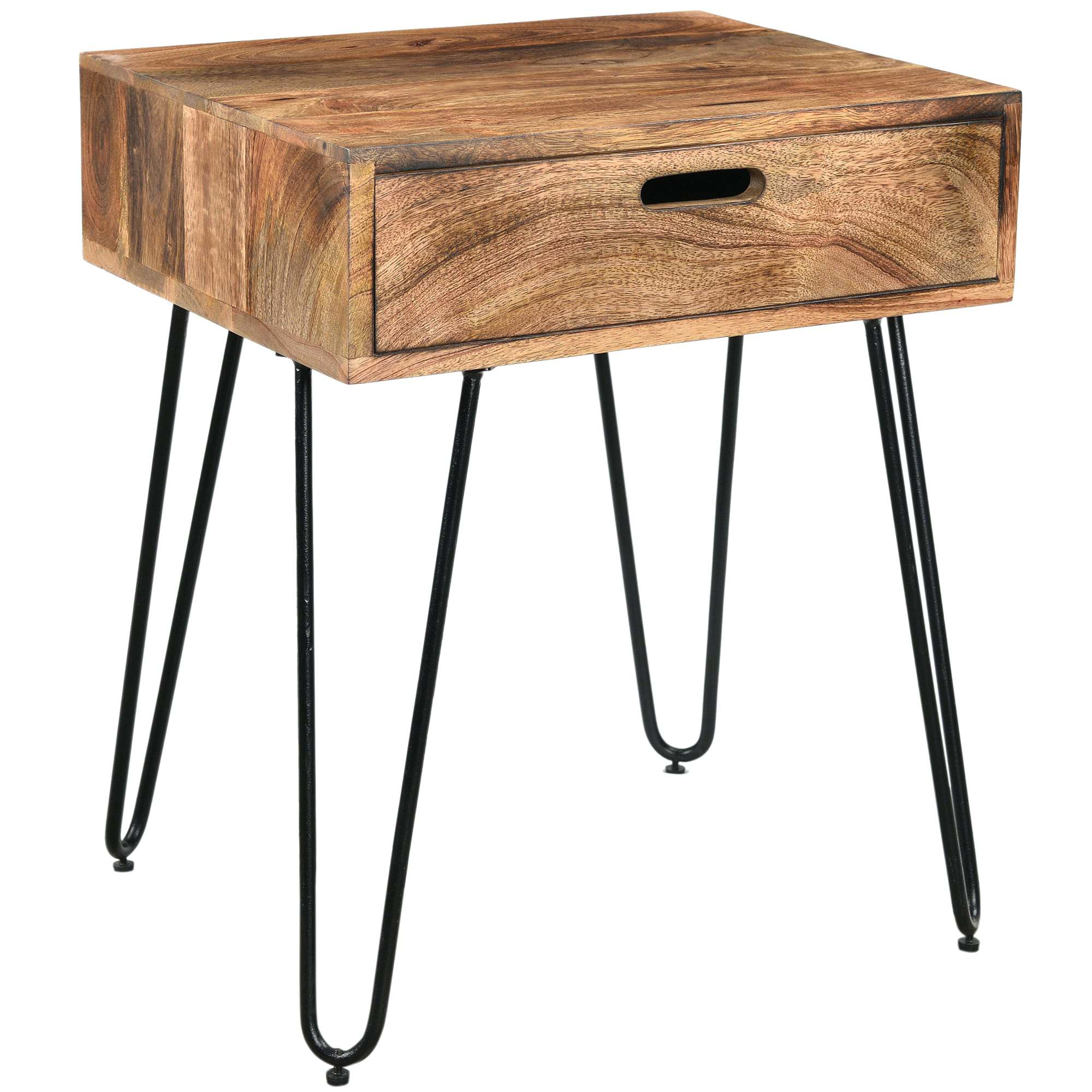 natural wood end table slab side branch rustic burnt solid mango black iron accent battery operated house lamps pier one outdoor umbrellas jcpenney curtains inch runner center