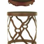 nautical coastal end tables table wire basket accent counter height dining with bench metal outdoor pottery barn armchair large bedside green side mirrored cabinet windham tall 150x150