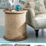 nautical style accent tables all coastal ideas table fill the small spaces interior design diy nesting knock off project with free icon printables and round silver side glass drum 150x150