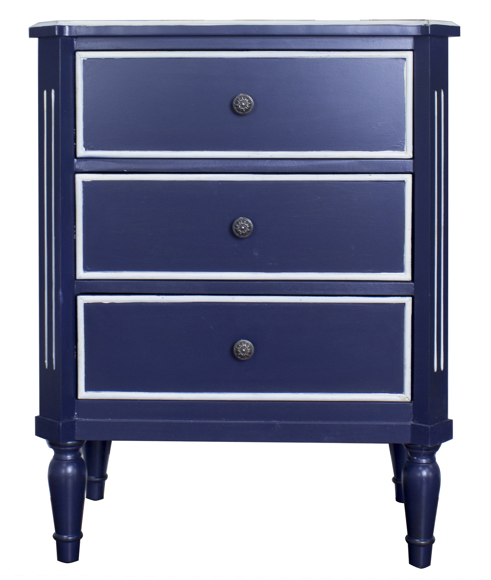 navy blue accent cabinet hernadez drawer chest fretwork table quickview diy coffee ceramic west elm media console small butler modern outdoor tables cylinder end tile patio