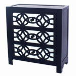 navy blue accent cabinet karratha drawer chest table storage drum square ott coffee new vintage furniture carpet threshold rectangle trestle dining room centerpieces concrete 150x150