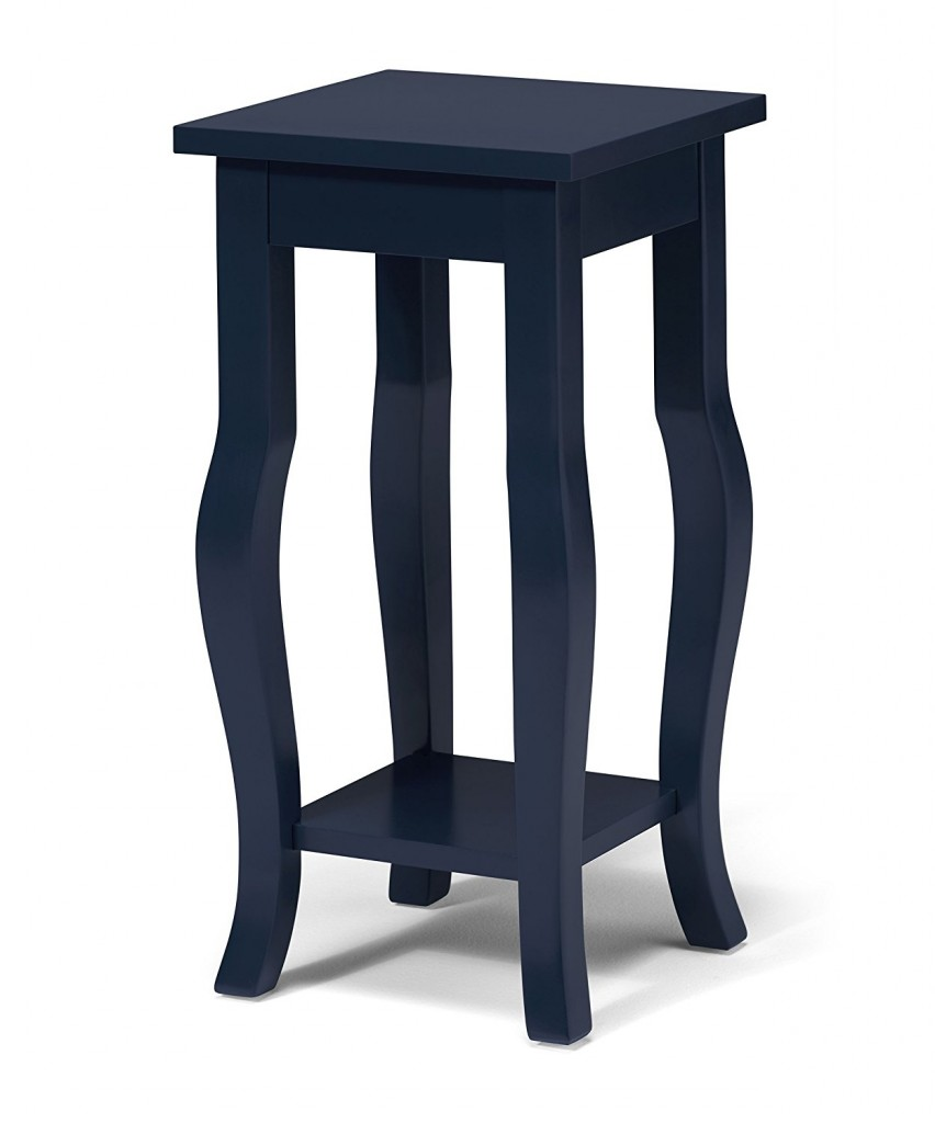 navy blue end table decor ideasdecor ideas antique accent tables harvest dining pottery barn rectangle trestle entryway bench black mirrored nightstand ikea living room sets with