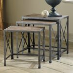 nesting accent tables round signature design ashley rustic accents graybrown knurl table dorm room ideas dining winsome with drawer and cabinet silver bedside bassett end gourd 150x150